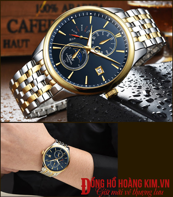 Đồng hồ Carnival dây kim loại