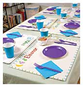 Personalized Place Mats Craft