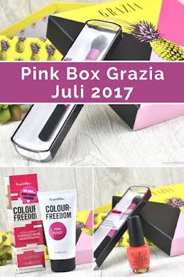 Unboxing der Pink Box Grazia Edition