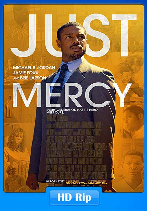 Just Mercy 2019 HDRip 720p x264 | 480p 300MB | 100MB HEVC