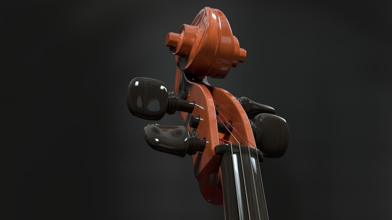 Wallpaper per PC 1366x768 violino