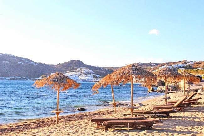 Paraga plaza na ostrvu Mikonos