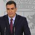 Sánchez pide a los partidos que apoyen la ampliación del estado de alarma
