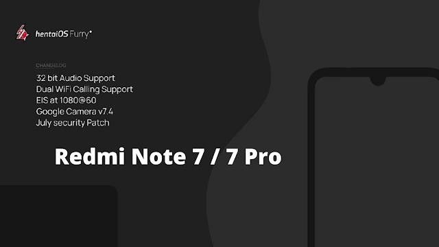 Hentai OS for Redmi Note 7 Pro