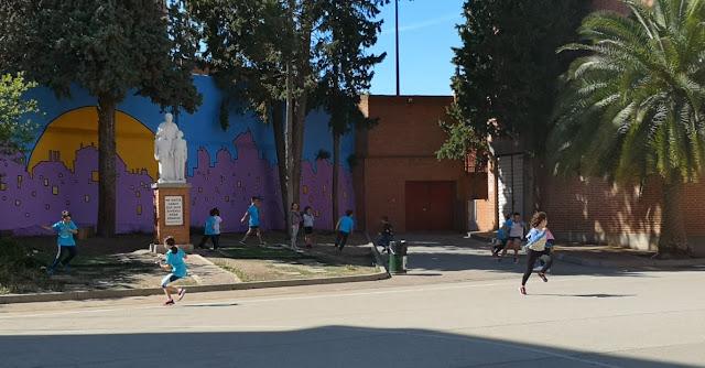 Patio Colegio María Auxiliadora. Zaragoza