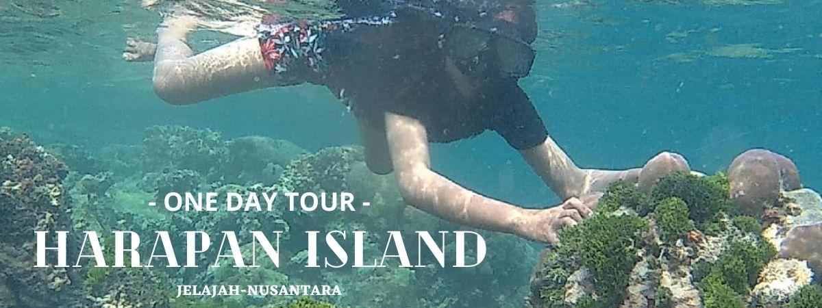 trip satu hari pulau harapan kepulauan seribu utara