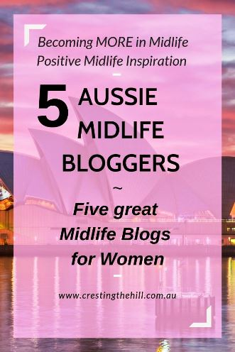 Five Australian Midlife bloggers I think everyone should know about