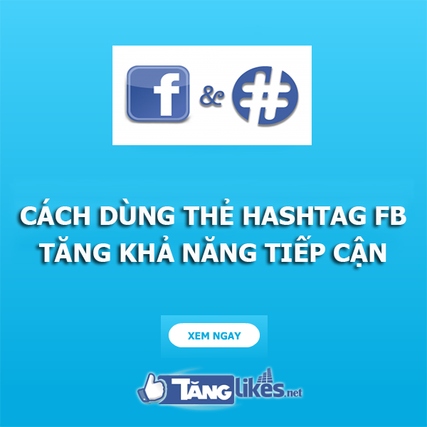 cach dung the hashtag facebook