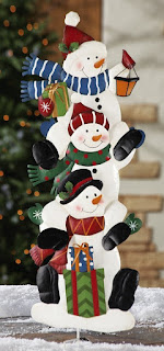 Snowmen Holiday Outdoor Decoration