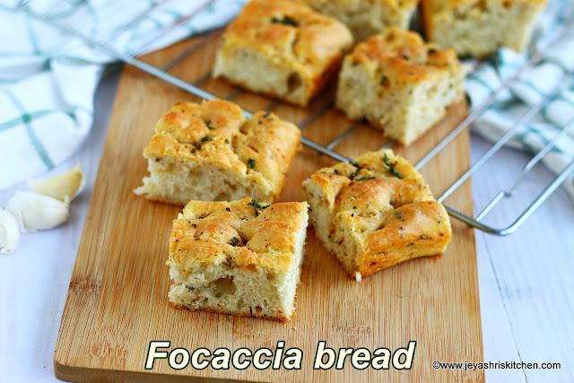 Focaccia- bread