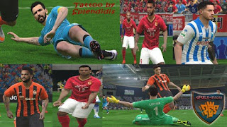 Pes 2016 New Tattoo Pack 209+ V.1.0 by Splendidis Источник: http://pes-files.ru/