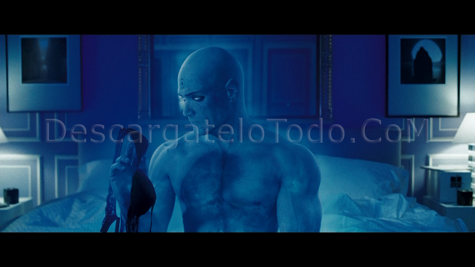 Watchmen The Ultimate Cut (2009) BRRip 720p Latino-Castellano-Ingles captura 2