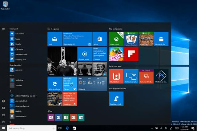 Ulasan dan fitur terbaru dari Windows 10
