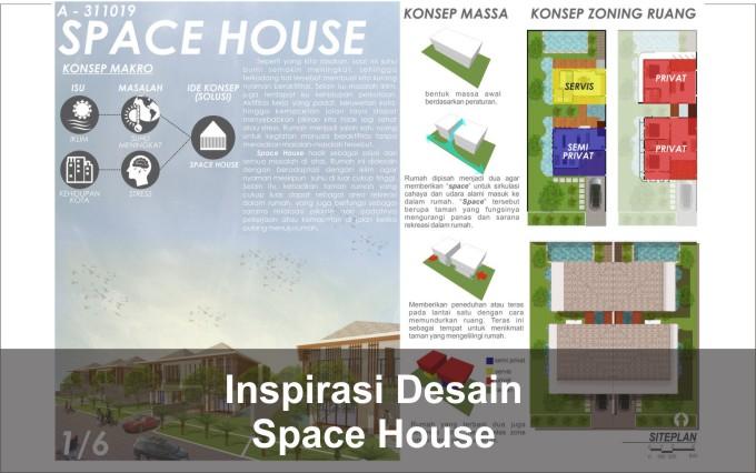 desain rumah space house