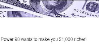 US Radio Contest, Your Chance to Win $1,000 cash prize