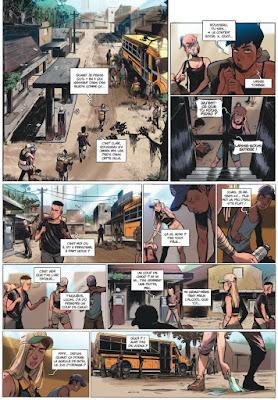 Review del cómic Green Class de David Tako y Jerome Hamon - Letrablanka Editorial