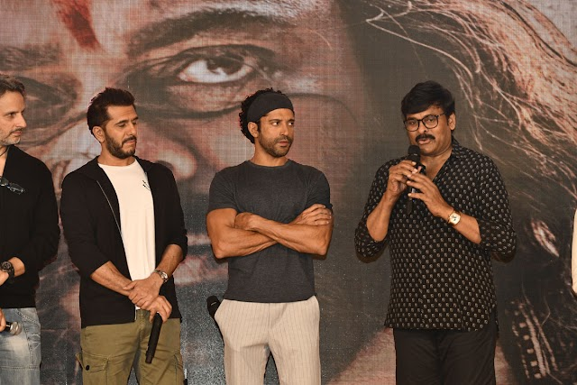 Chiranjeevi's Syeraa Movie Teaser Launch held at Mumbai - 2