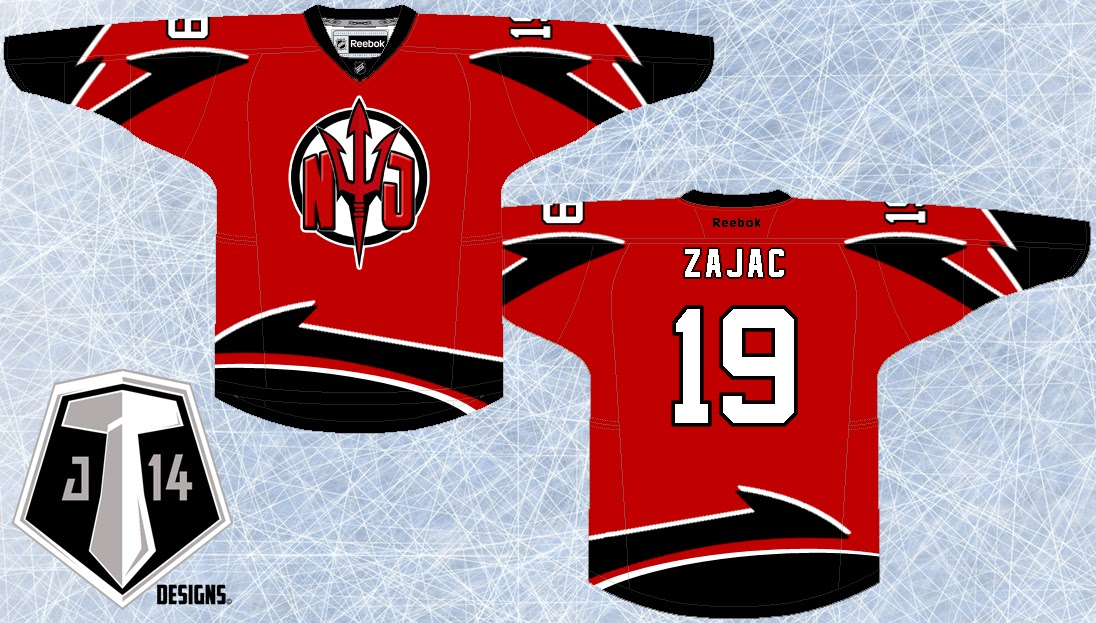 Rebrand Series  New Jersey Devils 4aab3ce59