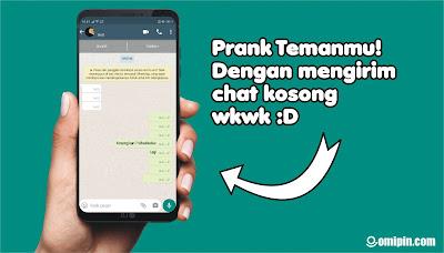 Cara Mengirim Pesan/Chat Kosong di WA Tanpa Aplikasi Tambahan Terbaru 2021