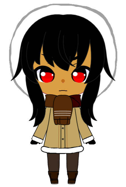Kiko the Naughty Inuit Girl (PNG) BY  jacobstout