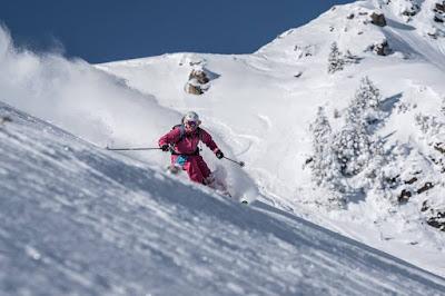 Skifahren wie in Kanada in den Kitzbühler Alpen Champagne Powder