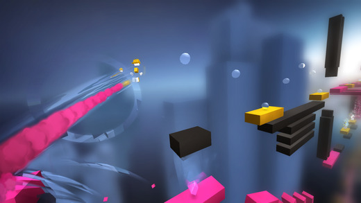 Chameleon Run , Apple's free app of the week Explores gorgeous audio and fantastic, hand-crafted architecture while trying to figure out ever-more-cunning puzzles.