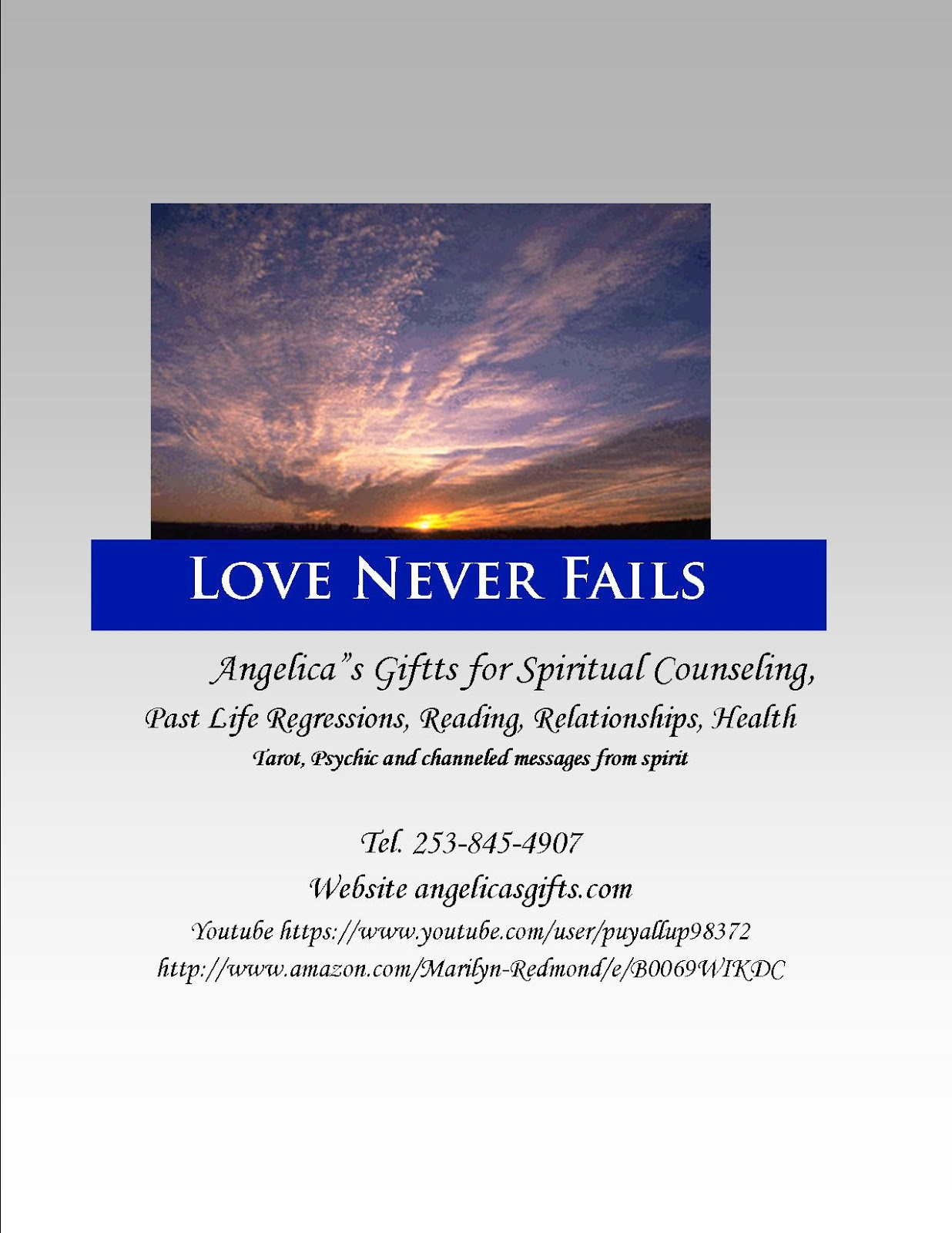 Marilyn Redmond Books: Spiritual Counseling and Readings ...