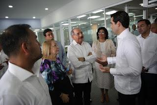 Danilo Medina asiste a la apertura de nuevas oficinas operativas ERC, inversión de más de 300 millones de pesos que crea mil nuevos empleos
