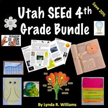 Utah SEEd Fourth Grade Bundle of Lessons