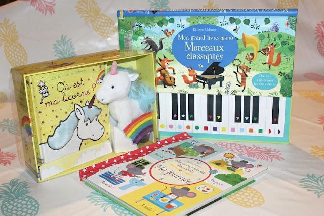 sélection de lecture d'enfant 2018
