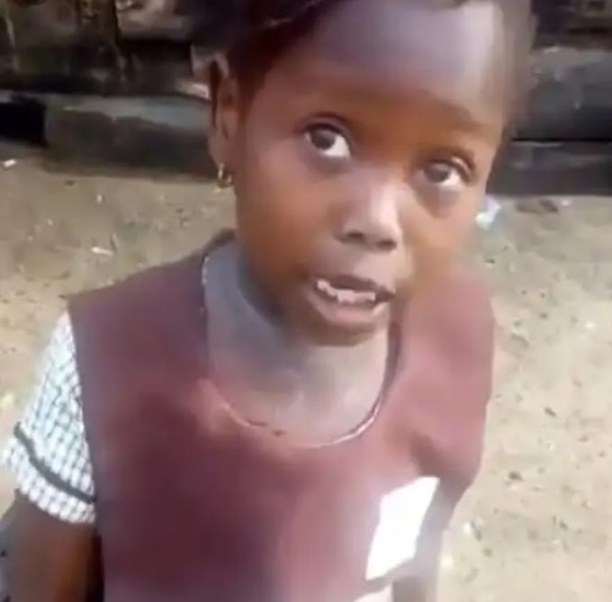 """""""All the promises na fake, my daddy still dey drive okada"""" – Success the school girl narrates in new video"""