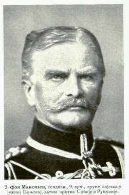von Mackensen, Cav.-General Commandant of the 9th Army, of the Army-Group in South Poland afterwards against Serbia and Roumania