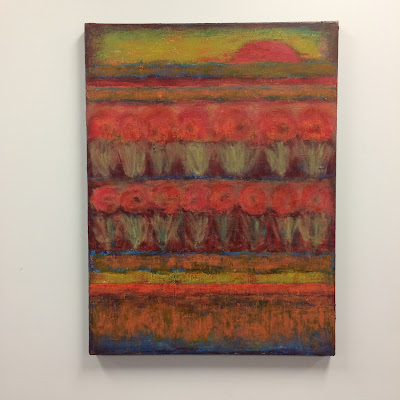 Marsha Stemmler | Red Moon Rising | 30x40 | $1200