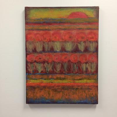 Marsha Stemmler | Red Moon Rising | 30x40 | $1200