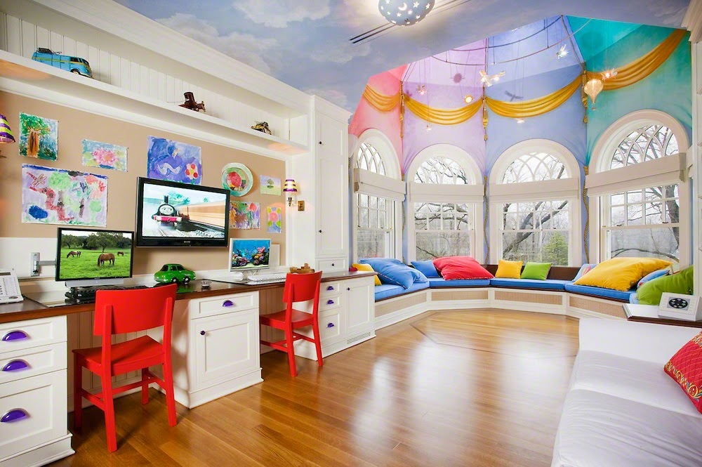 Dames Nook and His Stuff: Greatest Kids' Playroom Design