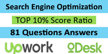 Upwork SEARCH ENGINE OPTIMIZATION TEST 2016