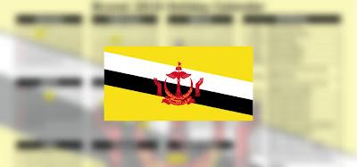 Kalendar Cuti Sekolah Brunei 2020 (Penggal Persekolahan)