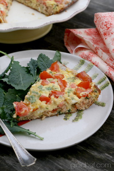 Tuna Frittata #WeekdaySupper #ChooseDreams