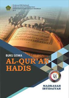 Buku Al Quran Hadis MI Kelas 6