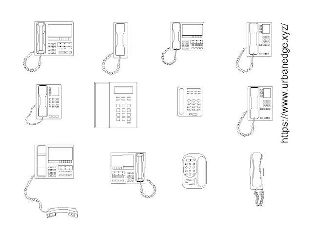 Phones plan cad blocks free download - 10+ dwg models
