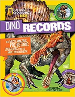 dino records, dinosaur book, dinosaurs, national geographic kids