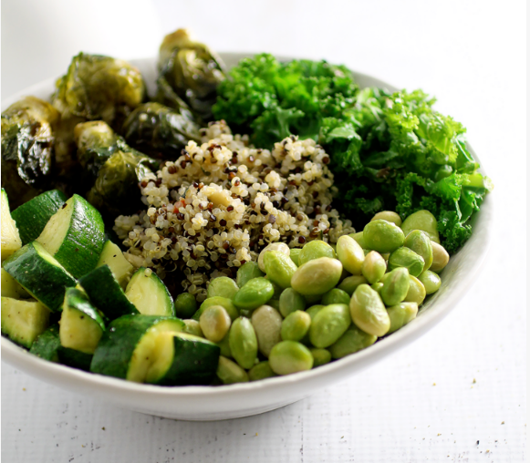 GREEN GODDESS BOWL #diet #bowl