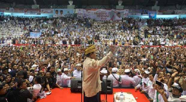 Prabowo Subianto Optimistis Menang di Kepulauan Riau