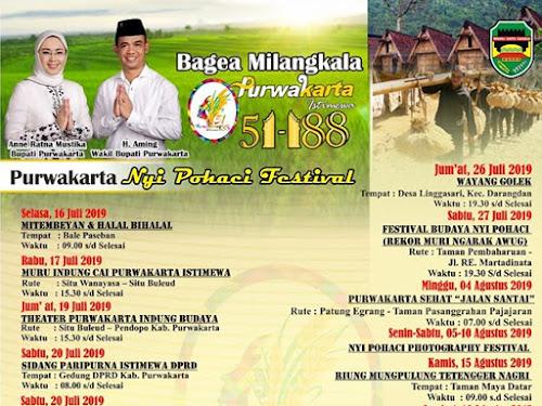 Jadwal Acara Hari Jadi Kabupaten Purwakarta Tahun 2019