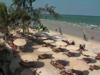 Strand beim Veranda Lodge Hua Hin
