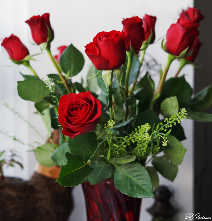 Letterbox Red Roses from Blossoming Gifts
