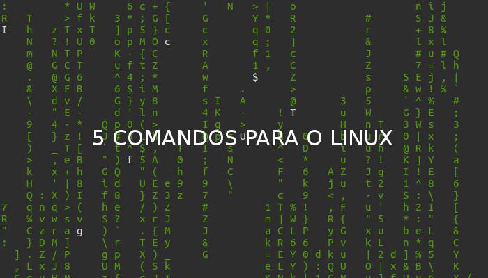 comandos no terminal do linux ubuntu