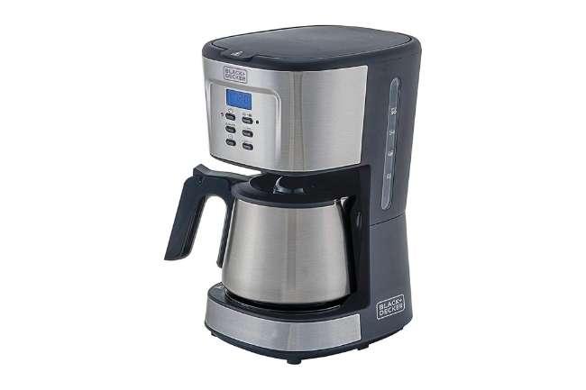 Cafeteira BLACK+DECKER Gris CM300G Inox 30 Xicaras