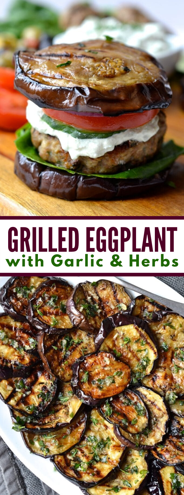 Grilled Eggplant #vegetarian #summerrecipes