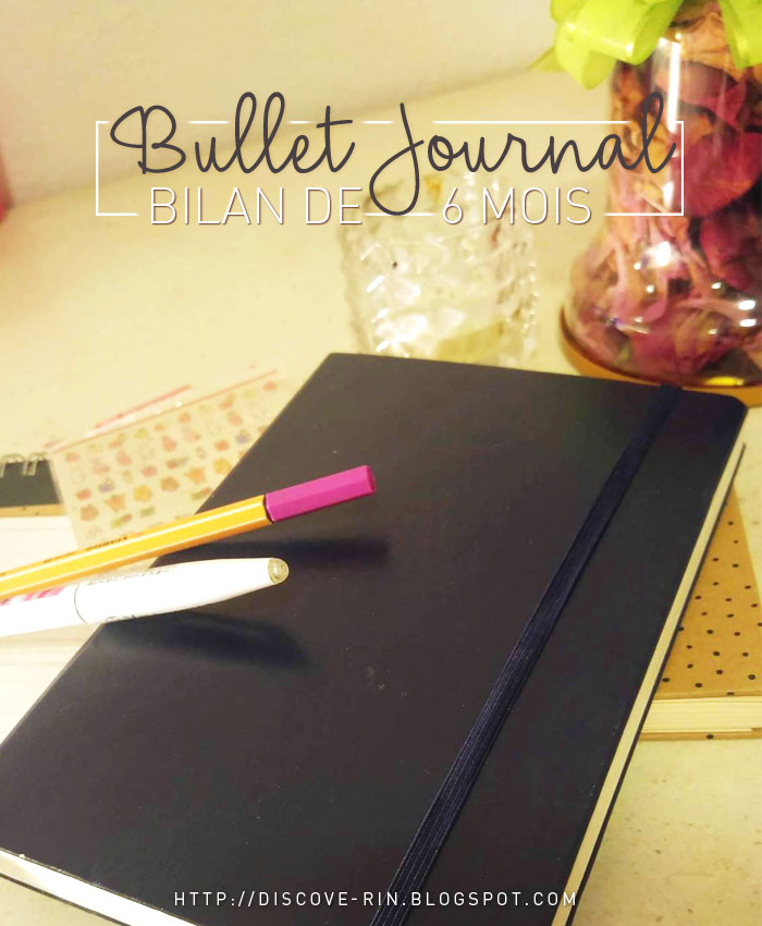 Bullet Journal : Bilan 6 mois